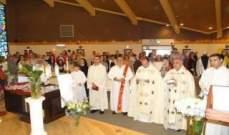 كنيسة مار شربل في نيو جرسي استقبلت ذخائر القديسة رفقا