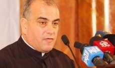 ابو كسم: الراعي وضع الجميع أمام مسؤولياتهم وقطيش ليس مؤهلا بأن يطالبه بالإستقالة