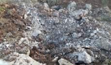 النشرة: سقوط صاروخ اسرائيلي بمحيط بلدة الهبارية اثناء تبادل القصف