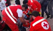 النشرة: جريحة اصابتها طفيفة بحادث سير على طريق المصيلح محلة كوع الفنار