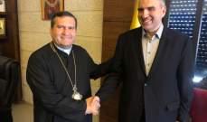 لويس لحود بحث مع قيادات روحية واقتصادية في طرابلس سبل مساعدة المزراعين