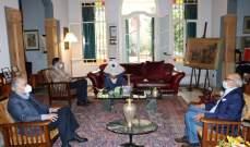 السفير الكويتي في لبنان زار رئيس اللقاء الديمقراطي وجرى عرض للمستجدات