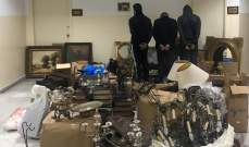 توقيف عصابة سرقت بقيمة 150 ألف دولار من منزل في الأشرفية