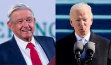 البيت الأبيض: بايدن سيبحث مع نظيره المكسيكي الإثنين بالتعاون الاقتصادي وبمجال الهجرة