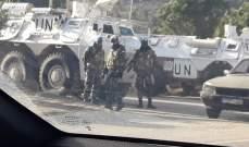 النشرة:انتشار كثيف للجيش واليونيفيل مقابل مستوطنة مسكاف عام في العديسة