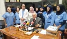 نائب رئيس المستشفيات الخاصة طالب المعنيين بايجاد حل لما يتعرض له مستشفى رياق
