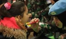 الكتيبة الاندونيسية باليونيفيل توفر العلاج المجاني أثناء حملة الرعاية الطبية