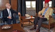 بري يواصل لقاءاته وإتصالاته ويستقبل ابو فاعور والعريضي والسفير الروسي