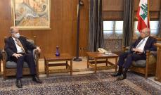 السفير السوري زار بري: التكامل بين سوريا ولبنان مخرج يستفيد منه البلدان بالاقتصاد