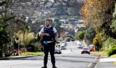 مقتل شرطي وإصابة آخر بهجوم مسلح في نيوزلندا