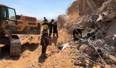 الدفاع المدني: عمليات البحث عن المفقودين اثر انفجار المرفأ لا زالت مستمرة