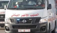 الصليب الأحمر: 5 فرق تعمل على نقل الجرحى وإسعاف المصابين من  وسط بيروت