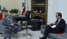 الرئيس عون عرض مع فوشيه الترتيبات المتعلقة بزيارة ماكرون الشهر المقبل