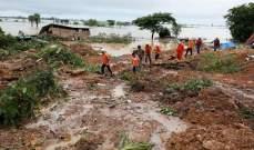 51 قتيلاحصيلة انزلاق التربة في بورما وعمليات البحث مستمرة