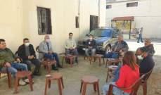 القيادة الفلسطينية في عين الحلوة والصليب الأحمر الدولي اتفقا على التنسيق معيشيا وصحيا