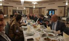 ذبيان: لتشكيل لوبي عربي – أوروبي لمناصرة فلسطين وقضيتها