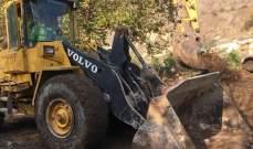 بلدية يحمر نظمت جولة لوفد اعلامي على الاشغال التي تقوم بها المصلحة الوطنية لنهر الليطاني