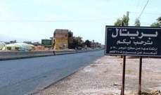 النشرة: قوة من الجيش نقلت سيارة تركها سارقوها بعد مطاردات معهم عند مدخل بريتال