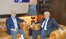 فنيانوس التقى القاضي حمدان وشدد على دور ديوان المحاسبة بترشيد العمل الاداري