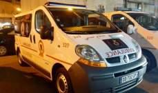 سيارتي إسعاف جديدتين تقدمة للدفاع المدني من مؤسسة المجبر الإجتماعية