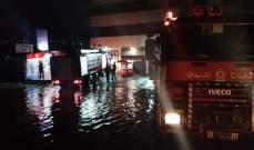 الدفاع المدني:انتهاء عمليات الإنقاذ بعدد من المناطق بعد تساقط الامطار