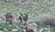 دورية للجيش الاسرائيلي اجتازت السياج التقني مقابل متنزهات الوزاني