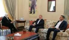 الحريري التقت الرئيس الجديد لفرع مخابرات الجيش في الجنوب