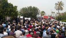 اعتصام أهالي الموقوفين الاسلاميين في عكار مطالبة بالافراج عن ابنائهم