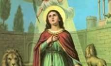 إنطلاق إحتفالات عيد مار تقلا في رعية تربل - البقاع