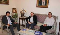 البزري التقى عضو المجلس الأعلى لطائفة الروم الكاثوليك سليم خوري