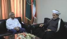 سعد يزور سوسان: تخلي السلطة عن مسؤوليتها اجتماعيا وأمنيا يؤدي للفوضى