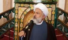 الشيخ الخطيب معزيا ذوي الشهيد يزبك: التعرض للجيش خط أحمر لا نسمح بتجاوزه