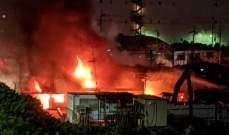 قتيل وثلاثة جرحى نتيجة انفجار في مستودع باليابان