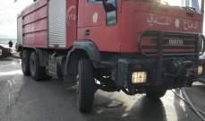 الدفاع المدني: حريق داخل سيارة في الجزائر في نهر ابراهيم