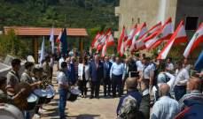 رئيس بلدية الحازمية زار قرية الحازمية في الضنية بهدف تعزيز الشراكة وتدعيم الروابط التنموية