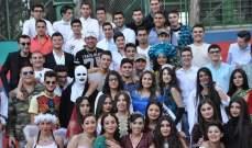 طلاب من ثانوية السيدة للراهبات في النبطية نظموا حفلة تنكرية