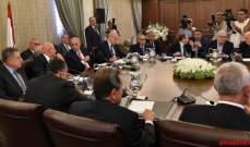 من ينقذ جلسة مجلس الوزراء بعد انفجار طاولة الحوار؟