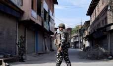 الجيش الهندي يعلن مقتل 5 من جنوده في معركة عنيفة مع مسلحين بإقليم كشمير
