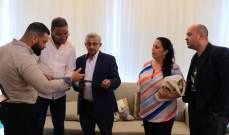 أسامة سعد تداول مع وفد الشيوعي كوبي للمستجدات على ساحات النضال