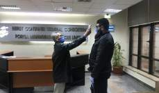إجراءات وقائية في محطة حاويات مرفأ بيروت
