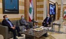 طرابلسي زار وزير الداخلية: لصون هيبة الدولة وحماية البلاد من الفوضى