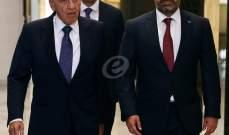 بري والحريري غادرا وزارة الدفاع بعد إنتهاء العرض العسكري