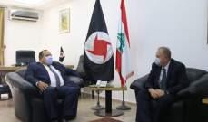 رئيس القومي والسفير الروسي اكدا اهمية مؤتمر دمشق لعودة النازحين لإعادة استقرار سوريا والمنطقة