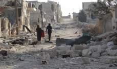 مصادر الشرق الأوسط: القصف الجوي على الغوطة الشرقية مسعى للتوغل بارض محروقة