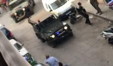 النشرة: اطلاق نار في الزاهرية على خلفيات انتخابية والجيش يلقي القبض على مطلق النار