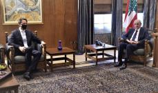 بري أمام هوكشتاين: لاستثناء لبنان من ضوابط قانون قيصر باستجرار الغاز المصري والكهرباء من الأردن