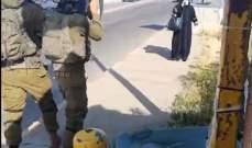 القوات الإسرائيلية أطلقت النار على سيدة فلسطينية بزعم محاولتها تنفيذ عملية طعن