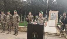 قيادة فوج التدخل السادس احتفلت بعيد الاستقلال في ثكنة رياق بالاشتراك مع مئات التلاميذ