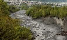 الشرطة السويسرية: فقدان رجل وفتاة بعد عاصفة قوية وسيول في البلاد