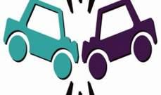 سقوط جريح بحادث سير في بلدة كفررمان